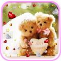 Teddy Bear Love live wallpaper