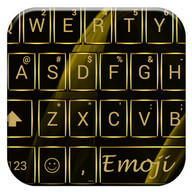 Gate Gold Emoji Keyboard