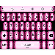 Tema papan kekunci PinkFlow