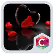 Romantik Tema Red Heart
