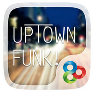 Uptown Funk GO Launcher Theme