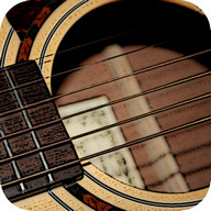 Virtual Guitar - A realistic-sounding guitar simulator for picking or playing chords