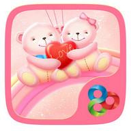 Bear Lovers GO Launcher Theme