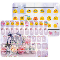 Alarm Rose Emoji Keyboard Skin