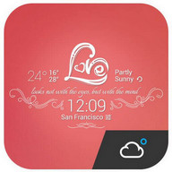 Sweet Honey Lover theme widget