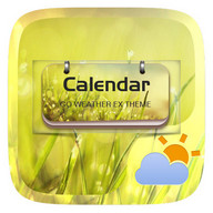 Calendar GO Weather Widget