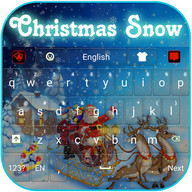 Christmas Snow Keyboard