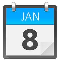 Clean Calendar Widget 2018