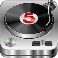 DJ Studio 5 - Free music mixer - Convert your Android into a set of decks