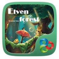 Elven Forest GO Launcher Theme