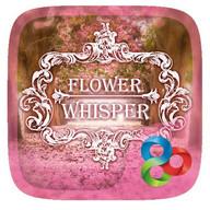 Flower Whisper GOLauncher EX Theme