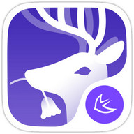 Forest Deer Fantasy theme&HD Wallpaper