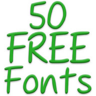 Free Fonts 50 Pack 23