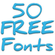 Free Fonts 50 Pack 9