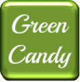 GO Keyboard Green Candy Theme
