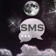 Malam Moon GO SMS Theme