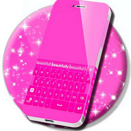 Keyboard Pink Design