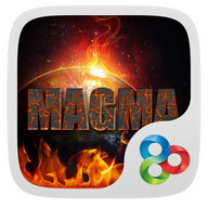 Magma GO Launcher Theme