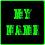 My Name 3D Live Wallpaper