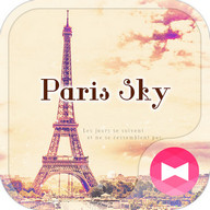 Eiffel Tower Theme-Paris sky-
