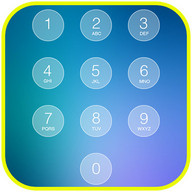 Passcode Keypad Lock Screen