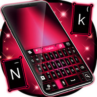 Keyboard Pink And Black