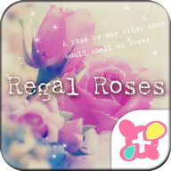 Flower Wallpaper Regal Roses