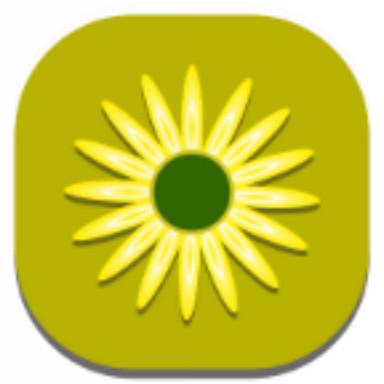 Little Flower C Launcher Theme