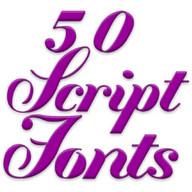 Fuentes para FlipFont Script