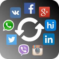 Social Contact Photo Sync