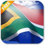 3D South Africa Flag LWP