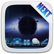 Next Launcher Theme SpaceFax