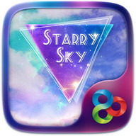 Starry Sky GO Launcher Theme