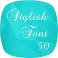 Stylish Fonts 50