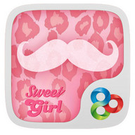 Sweet Girl GO Launcher Theme