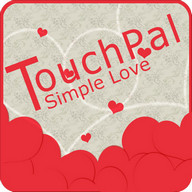 TouchPal SkinPack Simple Love