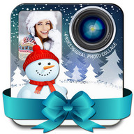 Winter Photo Collage Editor