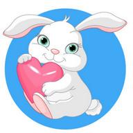 100 Heart Stickers