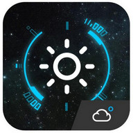 Animation Weather Cool widget