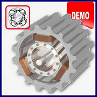 Asynchronous Motors Tools demo