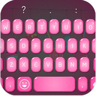 Emoji Keyboard - Candy Pink