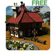 Cartoon Village 3D Live Wallpaper Free