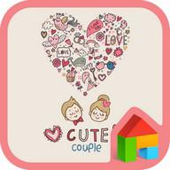 cute dodol launcher theme