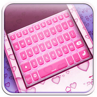 Cute Pink Keyboard Themes