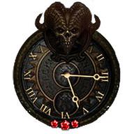 Diablo III Clock