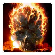 Fire Skulls Live Wallpaper