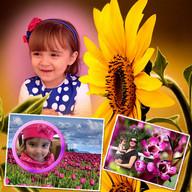 Flowers Photo Frames - Scrapee