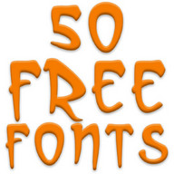 Free Fonts 50 Pack 24