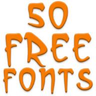 Fonts for FlipFont 50 24