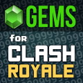 Free gems for Clash Royale